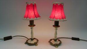 Sölken Leuchten V1180 Tripod Leuchte Messing Nachttischlampe Tisch Lampe '60er J