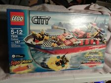 Lego City, Fireboat (7906) Brand New In Factory Sealed Box