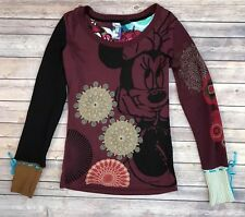 Desigual Disney Size M Top Minnie Mouse Long Sleeve Sweater