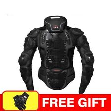 Men Motorcycle Armor Racing Body Protector Jacket Protective Gear Neck Protector