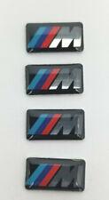 BMW M Wheel Emblem Sticker Thick Badge Logo M1 3 5 6 X3 5 6 M Tech 4X