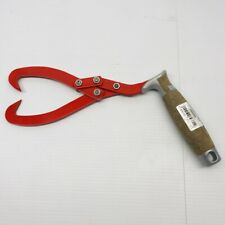 OREGON #536321 LIFTING TONGS LEATHER HAND GRIPS 18 cm