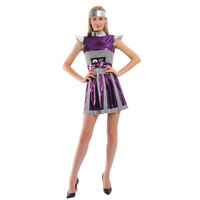 Women Robot Costume Astronaut Outfit Halloween Cosplay Party Outfits Fancy Dress