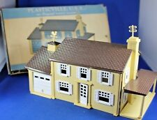 Plasticville - #LH-4-129 Two Story Colonial House - Complete - Box - Excellent