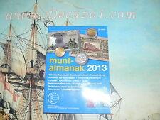 MuntAlmanak 30.2013 Nederlanda All coins & Banknotes  1795-date. All Euro coins