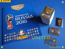 Panini★WM 2018 WC 18 World Cup★complete set/Komplettsatz + empty album/Leeralbum