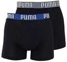 2er Pack Puma Boxer Unterwäsche Boxershorts Schwarz (7) M