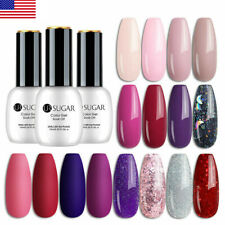 UR SUGAR 15ml UV Gel Nail Polish Soak Off Holographics Gel Varnish Base Top Coat