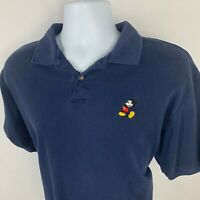 Disney Originals Shirt Men's Large L Golf Polo Mickey Mouse Short Sleeve Casual