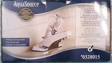 Aqua Source #0328015 Bathroom Faucet.Center Mount 4 In. Polished Chrome