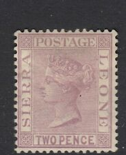 Sierra Leone 1883 2d Magenta Perf 14 Wmk CA SG 25 Scott 25 LMM/MLH Cat £70($91)