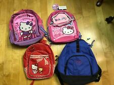 4 lot various backpacks bags accessories hello kitty nike