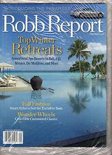 Robb Report-September 2009-Top Winter Retreats-Porsche Panamera-NEU
