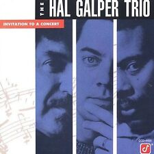 Invitation To A Concert - The Hal Galper Trio (CD 1991)