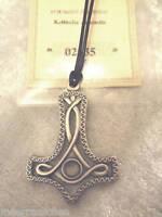 Keltisches Amulett Thors Hammer Bergkristall Neu Zertif