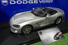 DODGE VIPER SRT-10 prototype cabriolet gris 1/18 AUTOart 71703 voiture miniature