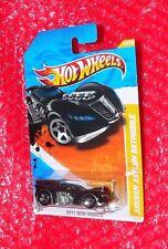 2011 Hot Wheels New Models Arkham Asylum Batmobile #24   T9694-09A0H  upc label