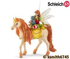 Schleich MARWEEN & GLITTER UNICORN SET Bayala fairy toy pet horse animal NEW 💥