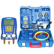 Wk 6889 Digital Manifold Gauge Refrigeration Vacuum Gauge Pressure Tester Meter