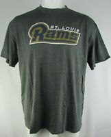 St Louis Rams NFL Men's Majestic Big & Tall Short Sleeve T-Shirt