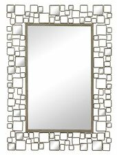 Alvis Mirror - Hand Cut and Hand Painted Wall Hanging Mirror