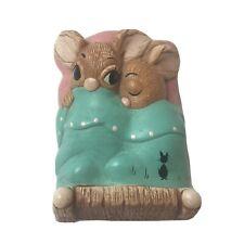 Pendelfin Twins Mice Stonecraft Figurine Made In England