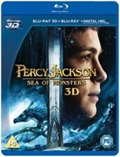 Percy Jackson Sea of Monsters (3D + 2D  Blu-Ray) (New/Sealed) (UK Region 2 / B)