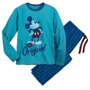"New Disney store Mickey Mouse Men pajama set ""The True Original"" many sizes"