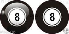 4 lucky 8 ball pool billard autocollant voiture vélo autocollant stickerbomb autocollant snooker