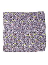 missoni for africa 1987 foulard donna ethiopia viola cotone