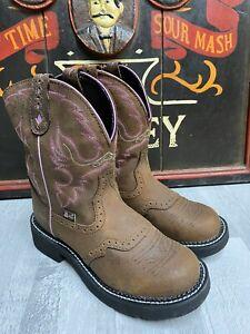 Justin Gypsy Cowboy Boots Brand New UK Size 4.5