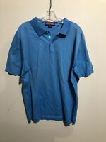 Men's Vineyard Vines Blue Polo Shirt Large S/S