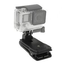 Rotation Clip Klemme Klemmhalterung kompatibel mit Actioncam GoPro HERO4 /3/2/1