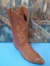 Womens Acme AC 527 Brown Cowboy Western Boots Size 8 M