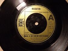 Delegation.....Where Is The Love (We Used To Know).....45rpm..70s Pop..