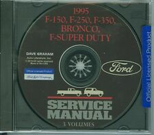 1995  FORD TRUCK SHOP  MANUAL ON CD-BRONCO, ECONOLINE, F-SERIES, F-SUPER DUTY