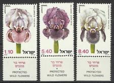 ISRAEL 1978 WILD FLOWERS SET MINT