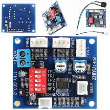 PC PWM 12 V Ventilador de la CPU Módulo De Controlador de Velocidad de Control de Temperatura Alarma de Alta Temperatura