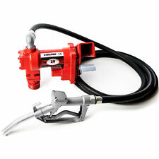 NEW Fuel Transfer Pump Diesel Gas Gasoline Kerosene Car Truck Tractor 12V 20GPM