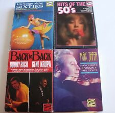Hits Of the 50's 60's Max Jaffa & Back To Back Buddy Rich & Gene Krupa  Tapes