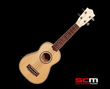 LANIKAI FLAME MAPLE SERIES SOLID SPRUCE TOP LFMS SOPRANO UKULELE BRAND NEW!
