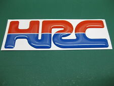 1 Domed HRC sticker All Models