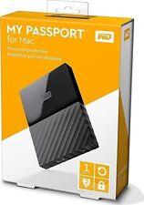 WD My Passport 1 TB  Auto Backup Sof for PC, Xbox & PS4 New BNIB Black