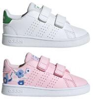 ADIDAS ADVANTAGE INF scarpe bambino bambina stan sportive smith sneakers pelle