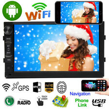"7"" Android 8.1 Car Stereo 2 Din Video MP5 Touch Radio Mirror Link WIFI GPS NAVI"