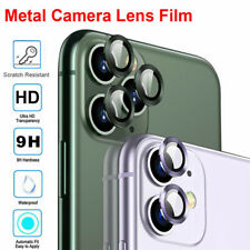 For iPhone 11 Pro SE 2 Accessory Full Cover Tempered Glass Camera Lens Protector