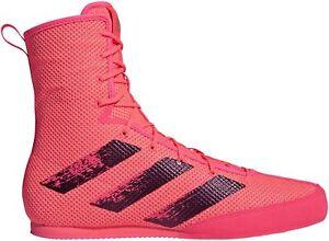 adidas Box Hog 3 Mens Boxing Shoes - Pink