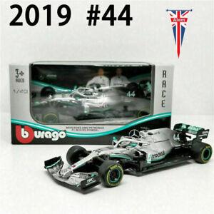 Mercedes AMG Petronas F1 2019 W10 Lewis Hamilton #44 Scale 1:43 Model Car Toys