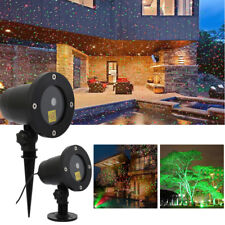 Xmas Christmas Star Laser LED Projector Light Motion Lawn Garden Outdoor Lights