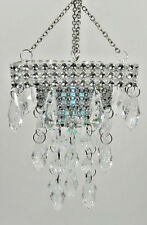 """SQUARE-BATTERY OPERATED """"CHANDELIER"""" FOR DIORAMA-Barbie, Fashion Royalty *** NEW"""
